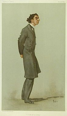 Israel Zangwill by Walter Sickert Vanity Fair 25 February 1897.jpg