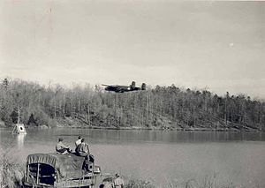 309th Maintenance Wing - Image: Issaqueena Bombing Range Clemson SC 1942