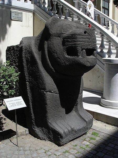 Resim:Istanbul - Museo archeol. - Leone ittita - Foto G. Dall'Orto 28-5-2006 02.jpg