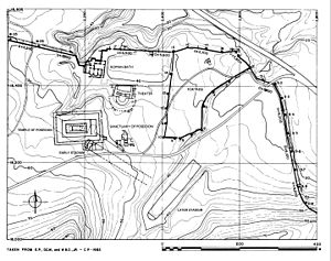 Isthmia (ancient city) - Site Plan of Sanctuary of Poseidon at Isthmia
