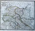 Italia sup., Raetia, Noricum, Pannonia, Illyricum terrarum antiquus 1861.jpg