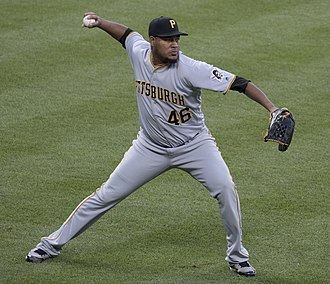 Iván Nova - Nova with the Pirates in 2017