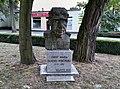 Józef Maria Hoene-Wroński, monument in Wolsztyn.jpg