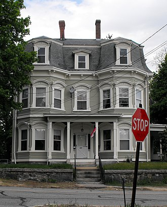 National Register of Historic Places listings in Methuen, Massachusetts - Image: J.E. Buswell House