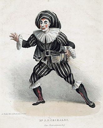 Scaramouche - Image: J.S. Grimaldi (as Scaramouch)