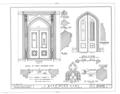 J. Mora Moss House, Broadway and MacArthur Boulevard, Oakland, Alameda County, CA HABS CAL,1-OAK,2- (sheet 11 of 12).png