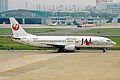 JA8998 B737-446 JAL Japan Airlines NGO 20MAY03 (8405239606).jpg