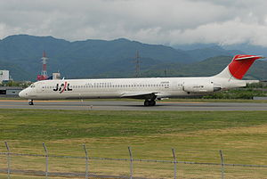 JAL Express - JAL Express operated the McDonnell Douglas MD-81 aircraft type (pictured) between 2005 and 2010