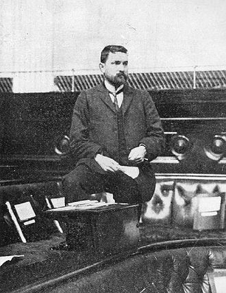 Chris Watson - Watson in the House of Representatives in 1902.