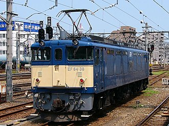 JNR Class EF64 - EF64 38 at Hachioji in July 2004