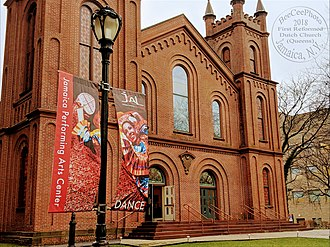 Jamaica Center for Arts & Learning - Jamaica Performing Arts Center (Landmarked)- First Reformed Dutch Church (Queens)
