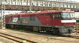 JR Freight Class EH500 - Image: JRF EH500 2 2011 0808