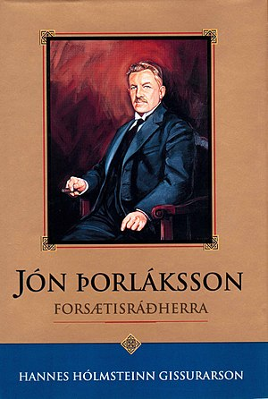 Jón Þorláksson - A biography of Jón Þorláksson (in Icelandic) was published in 1992