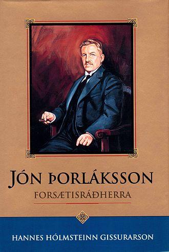 Jón Þorláksson - A biography of Jón Þorláksson (in Icelandic) was published in 1992