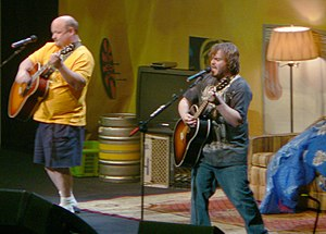Jack Black - With Kyle Gass of Tenacious D