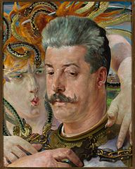 Portrait of Tadeusz Błotnicki with Medusa