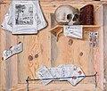 Jacobus Plasschaert - Trompe l'oeil still life with a skull.jpg