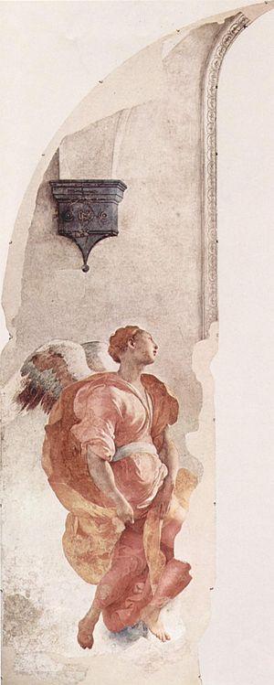 Annunciation (Pontormo) - Image: Jacopo Pontormo 025
