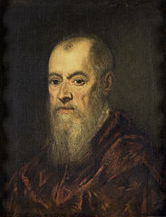 Portrait of a Man with a Red Cloak