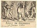Jacques Callot, Balli di Sfessania, Frontespice.jpg