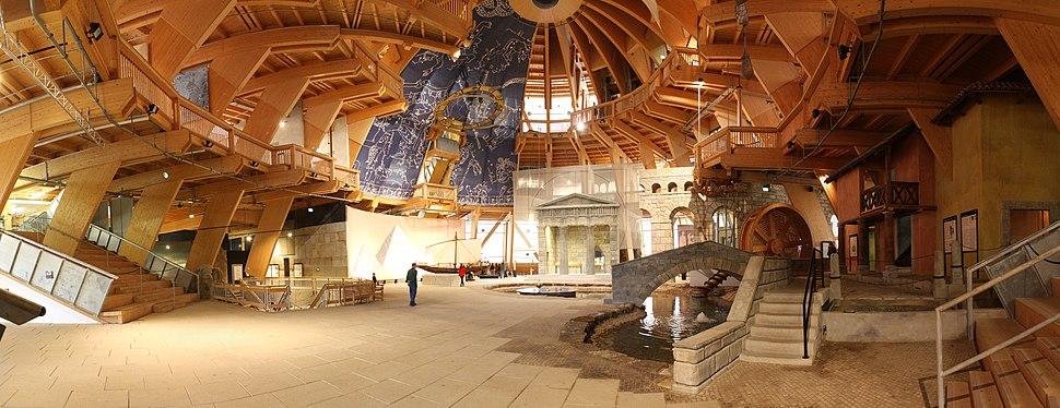 Jahrtausendturm - Interior