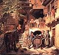Jakob Fürchtegott Dielmann - Rheinische Weinkellerei 1838.jpg