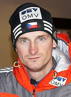 Czech ski jumper