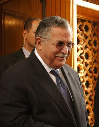 Patriotic Union of Kurdistan - Jalal Talabani was the leader of the PUK and former president of Iraq