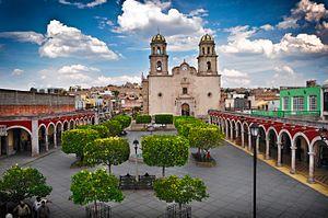 Jalostotitlán - Plaza Alfredo R Plasencia en Jalostotitlán Jalisco