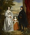 James, Seventh Earl of Derby, His Lady and Child - Van Dyck 1632-41.jpg