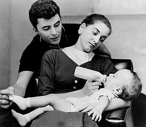 James Darren - James Darren with Gloria Terlitsky and son