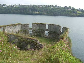 James's Fort - The waterfront blockhouse