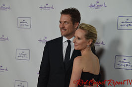 James Tupper met Anne Heche