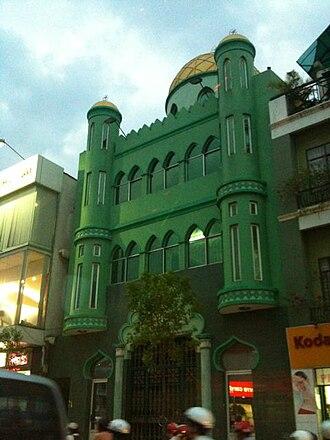 Phú Nhuận District - Jamiul Muslimin Mosque in Phú Nhuận district