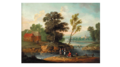 Jan Frans van Bredael - River landscape with people walking.png