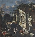 Jan Griffier I (c.1652-1718) - Classical Ruins with Diana and Nymphs Bathing - 653162 - National Trust.jpg