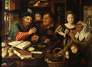 Jan Matsys - At the tax office