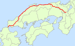 Japan National Route 9 Map.png