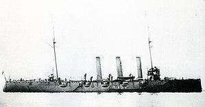 Japanese cruiser Otowa - Image: Japanese cruiser Otowa