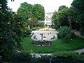 Jardins du 14ème vus du balcon de la mairie.JPG