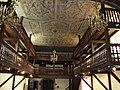 Jatxou (Pyr-Atl. Fr) plafond et tribunes de l'église.JPG