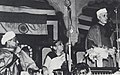 Jawaharlal Nehru addressing the Indian Science Congress, Lucknow, 3 January 1949.jpg