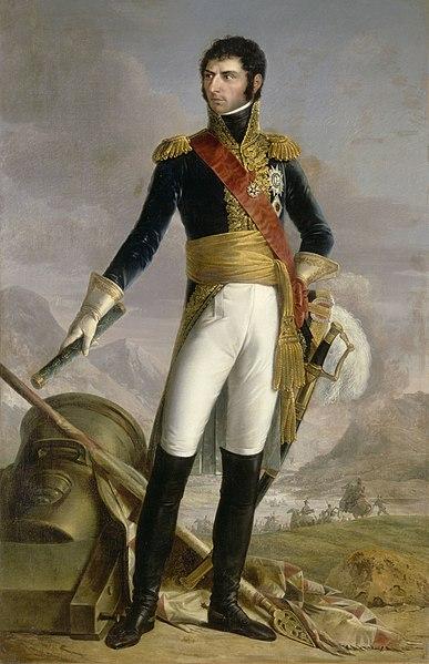 File:Jean-Baptiste-Jules Bernadotte, Prince de Ponte-Corvo, roi de Suède, Maréchal de France (1763-1844).jpg