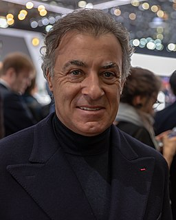 Jean Alesi French racecar driver