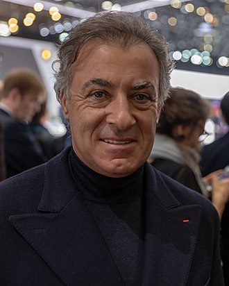Jean Alesi - Alesi at Geneva International Motor Show 2019