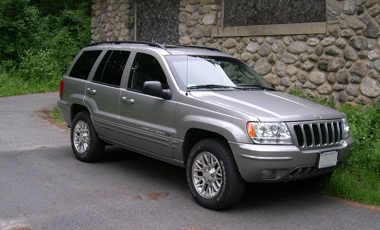 file jeep grand cherokee wj wikimedia commons. Black Bedroom Furniture Sets. Home Design Ideas