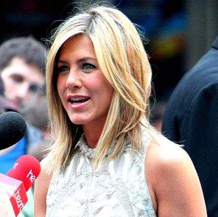 Aniston at the London premiere of Horrible Bosses in 2011 Jennifer Aniston 2011.jpg