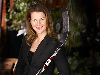 Jennifer Botterill ice hockey player