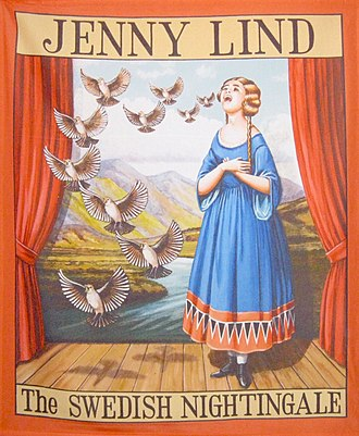 Jenny Lind - Barnum poster