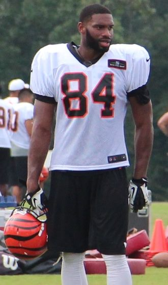 Jermaine Gresham - Gresham with the Cincinnati Bengals